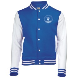 Veste bicolore college enfant